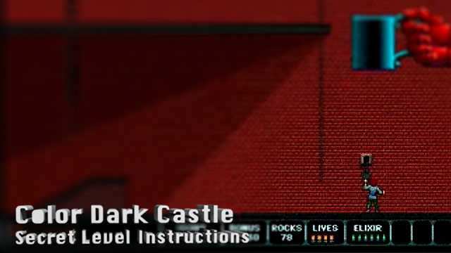 Color Dark Castle - Secret Level Instructions